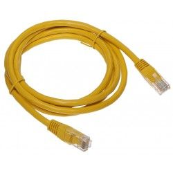 Patchcord UTP Cat.6 galben - 1.5 m